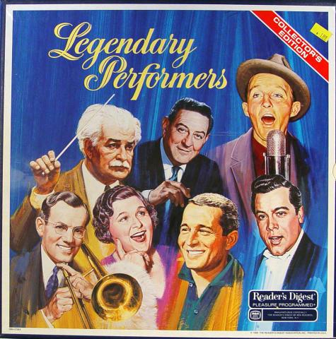 "Legendary Performers Vinyl 12"""