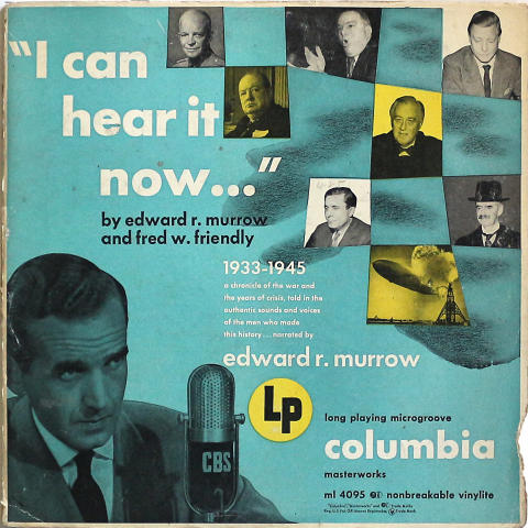 "Edward R. Murrow Vinyl 12"""