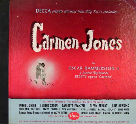 "Carmen Jones Vinyl 12"""