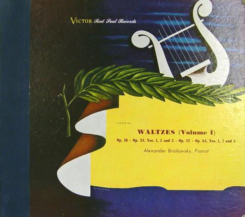 """Alexander Brailowsky Vinyl 12"""""""