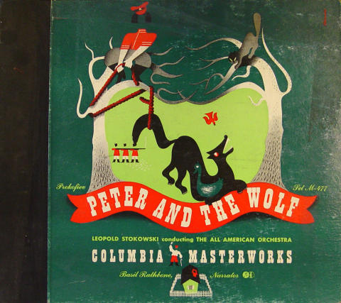 Peter And The Wolf Vinyl 12""