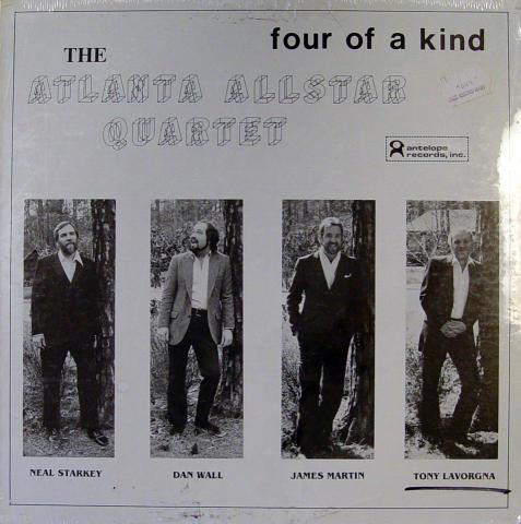 """The Atlanta Allstar Quartet Vinyl 12"""""""