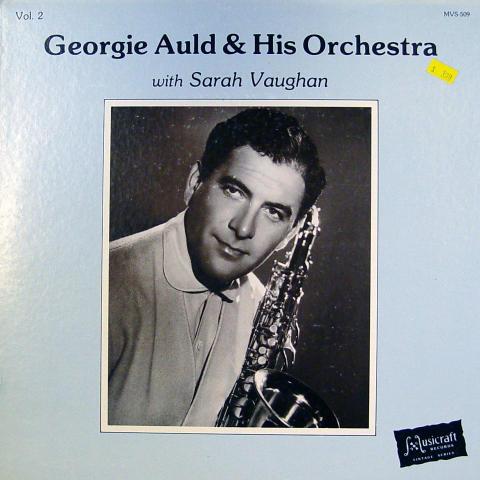 "Georgie Auld / Sarah Vaughan Vinyl 12"""