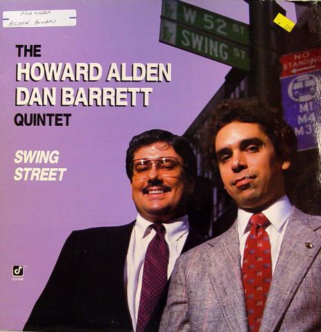 """The Howard Alden Dan Barrett Quintet Vinyl 12"""""""
