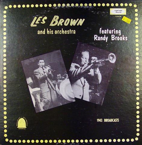 "Les Brown / Randy Brooks Vinyl 12"""