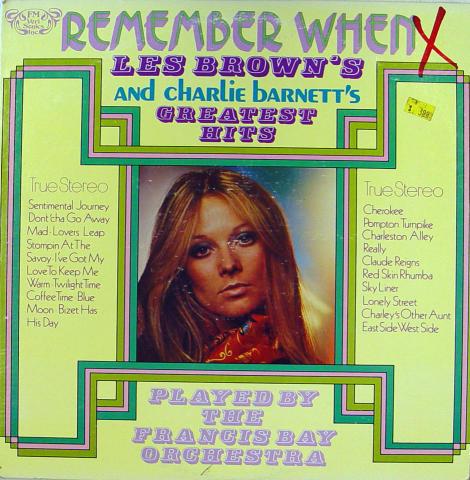 """Les Brown / Charlie Barnett Vinyl 12"""""""