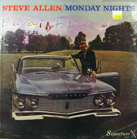 "Steve Allen Vinyl 12"""