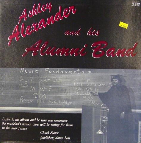 "Ashley Alexander And His Alumni Band Vinyl 12"""
