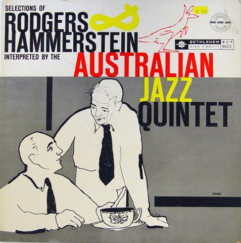 "The Australian Quintet Vinyl 12"""