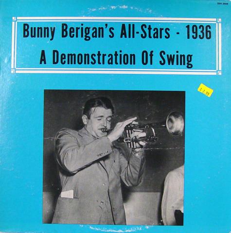 """Bunny Berigan's All Stars Vinyl 12"""""""