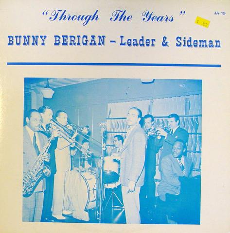 "Bunny Berigan Vinyl 12"""