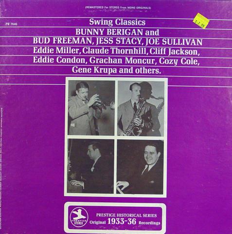 "Swing Classics: 1933-36 Vinyl 12"""