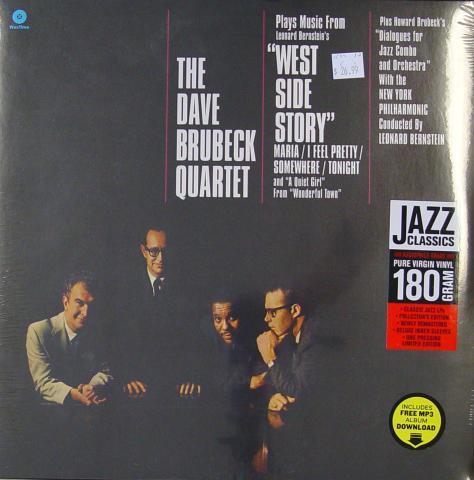 "The Dave Brubeck Quartet Vinyl 12"""
