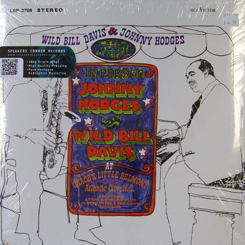 """Wild Bill Davis / Johnny Hodges Vinyl 12"""""""