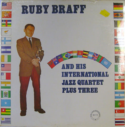 Ruby Braff And His International Jazz Quartet Plus Three Vinyl 12""