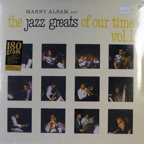 "Manny Albam Vinyl 12"""
