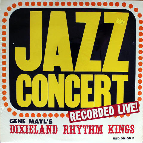 """Gene Mayl's Dixieland Rhythm Kings Vinyl 12"""""""