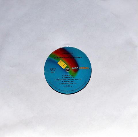 "Carmen Cavallaro And His Orchestra Vinyl 12"""