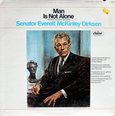 "Senator Everett McKinley Dirksen Vinyl 12"""