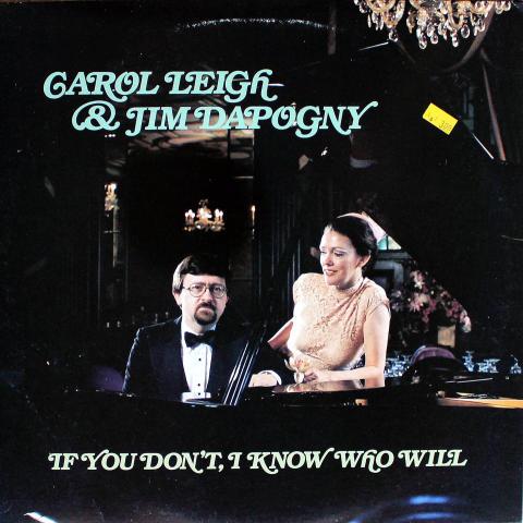 "Carol Leigh & Jim Dapogny Vinyl 12"""