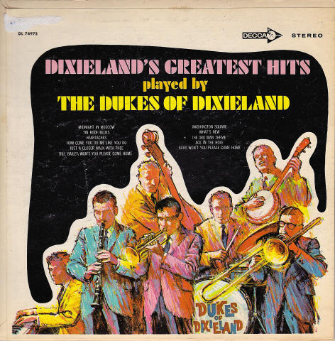 "The Dukes of Dixieland Vinyl 7"" (Used)"