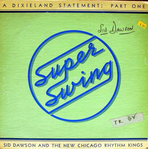 """Sid Dawson And The New Chicago Rhythm Kings Vinyl 12"""""""