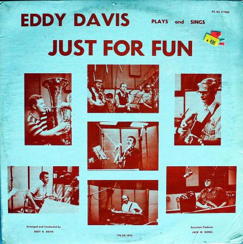 "Eddy Davis Vinyl 12"""