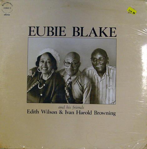 """Eubie Blake Vinyl 12"""""""