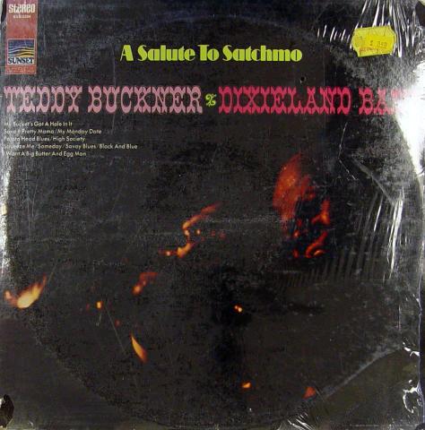 "Teddy Buckner / Dixieland Band Vinyl 12"""