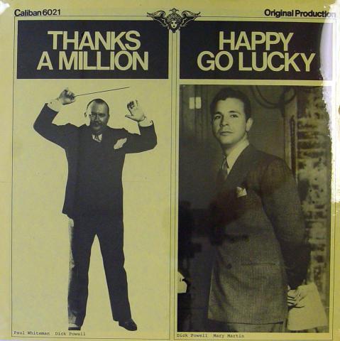 "Thanks A Million / Happy Go Lucky Vinyl 12"""