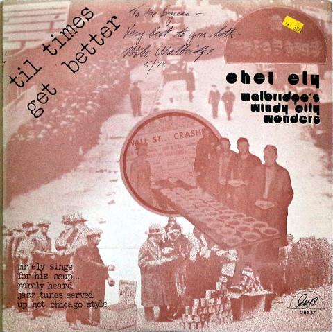 "Chet Ely Vinyl 12"""
