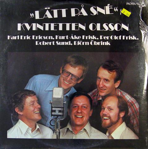 "The Olsson Quintet Vinyl 12"""