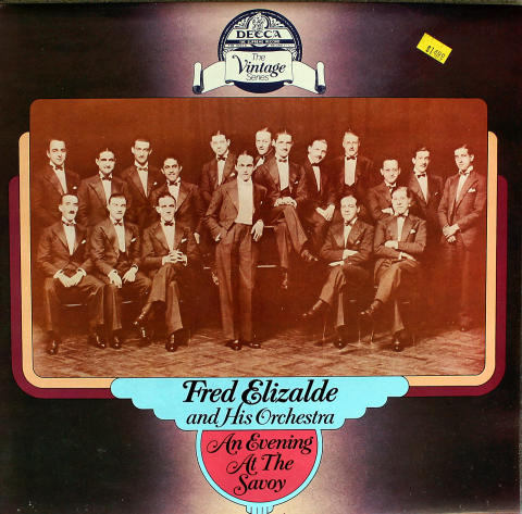 """Fred Elizalde And His Orchestra Vinyl 12"""""""