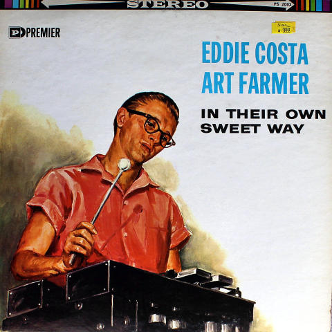 "Eddie Costa / Art Farmer Vinyl 12"""