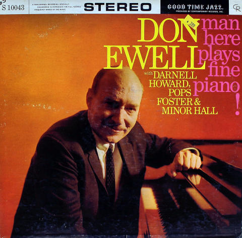 Don Ewell Quartet Vinyl 12""