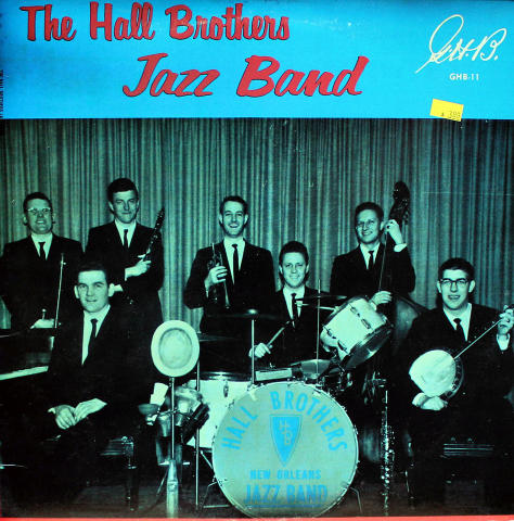 """The Hall Brothers Jazz Band Vinyl 12"""" (Used)"""