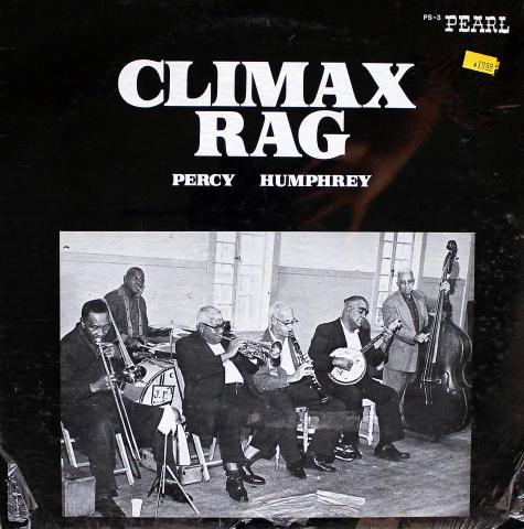 """Percy Humphrey And His Crescent City Joymakers Vinyl 12"""""""