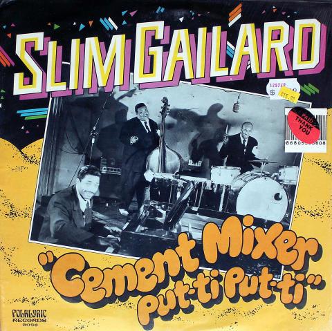 "Slim Gailard Vinyl 12"""