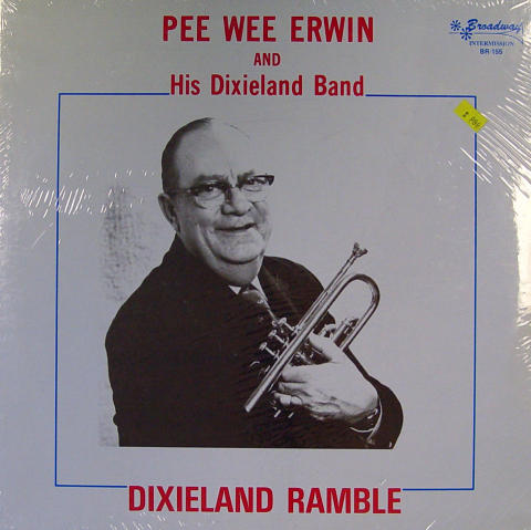 """Pee Wee Erwin And His Dixieland Band Vinyl 12"""""""