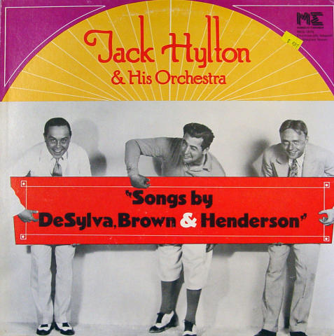 Jack Hylton And His Orchestra Vinyl 12""