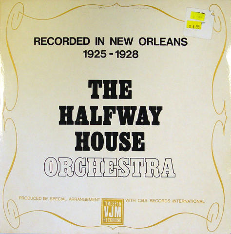 "The Halfway House Orchestra Vinyl 12"" (Used)"