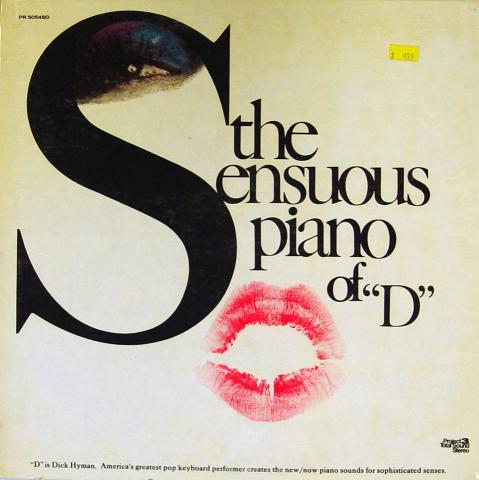"Dick Hyman Vinyl 12"""