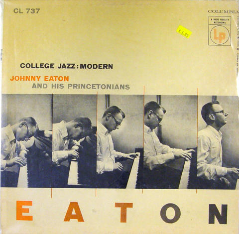 Johnny Eaton And His Princetonians Vinyl 12""
