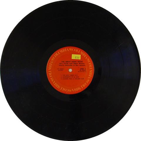 "W.C. Fields With Edgar Bergen /Charlie McCarthy & Don Ameche Vinyl 12"" (Used)"