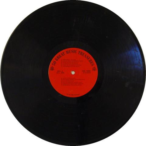 "50 Great Music Treasures Vinyl 12"""
