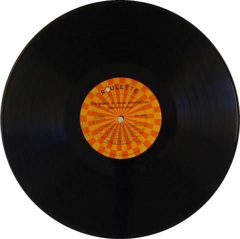 "Dinah Washington Vinyl 12"""