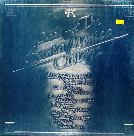 "Jazz At The Santa Monica Civic '72 Vinyl 12"" (Used)"