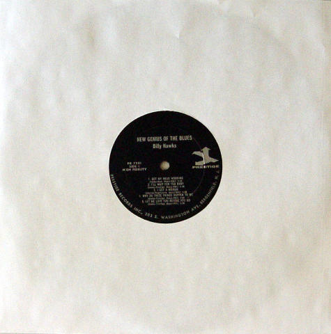 """Billy Hawks Vinyl 12"""""""