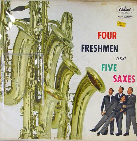 """Four Freshmen And Five Saxes Vinyl 12"""""""