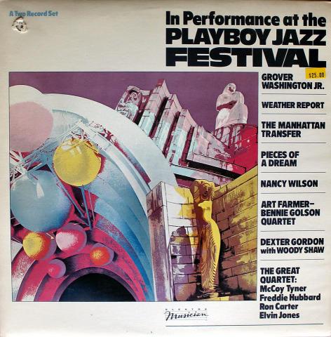 "In Performance At The Playboy Jazz Festival Vinyl 12"""